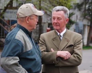 Dr. Jaromir Dostal with John Pitlo