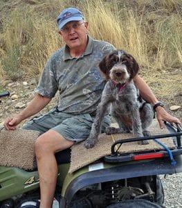 Cora and Roger 4 wheeler