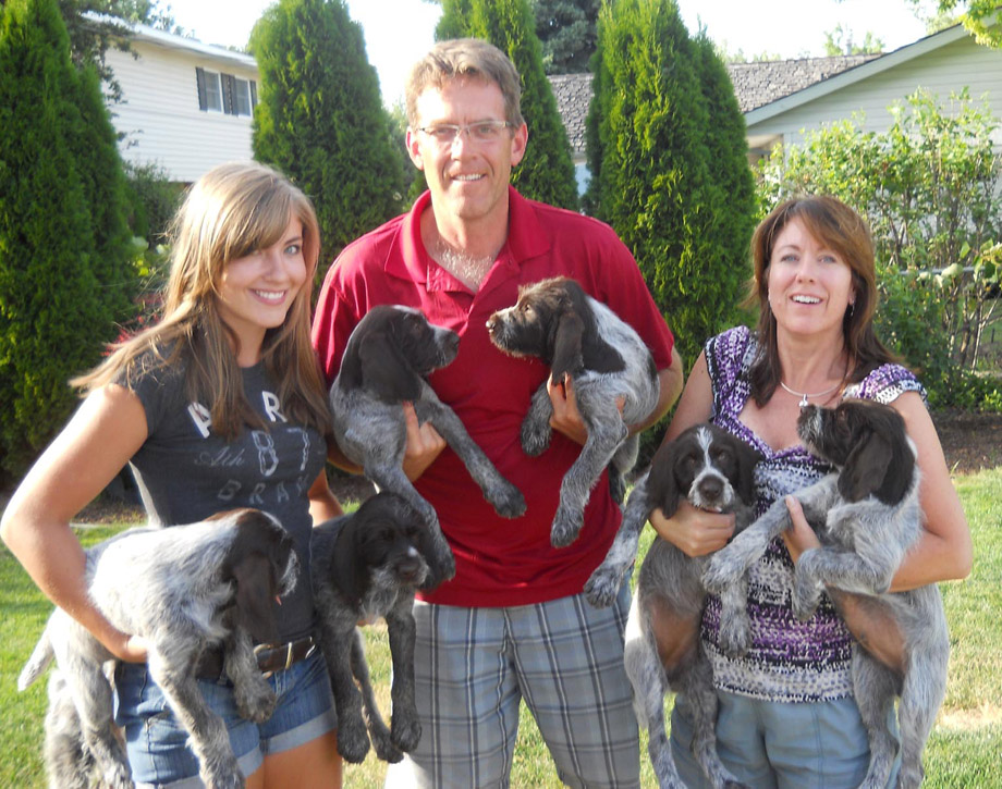 Bullock Family with pups