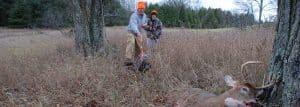 Brinker tracks a buck