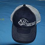 Blue with white mess CFNA Logo Cap