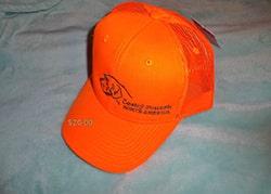 hunter orange cap